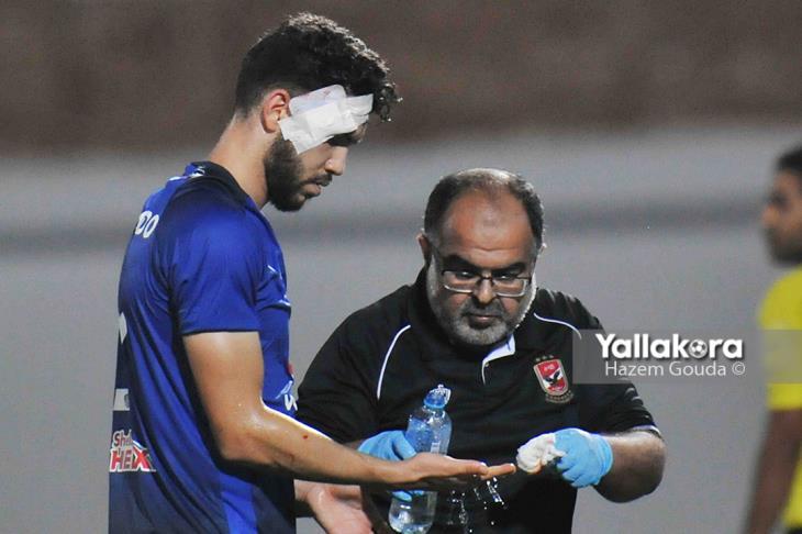 طبيب الأهلي يوضح إصابة أزارو وأشرف وحمودي