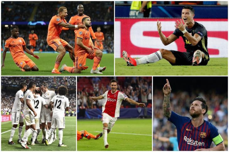 حصاد دوري الأبطال.. الجولة الأولى.. ميسي الأفضل وريال مدريد الأشرس هجوميا