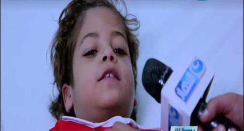 بالفيديو.. طفل مريض يعبر عن حبه للأهلي ويتوجه بطلب لغالي