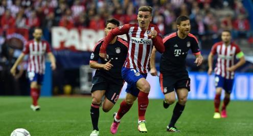 تصنيف مباراة أتلتيكو مدريد وبايرن بأنها مرتفعة المخاطر