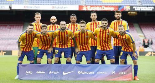 برشلونة يحتفل بمرور نصف قرن على شعار