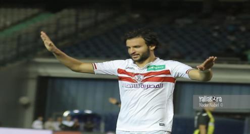محمود علاء يواجه أخيه في مباراة الزمالك والداخلية