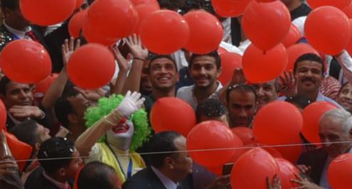 الأهلي يدعم مستشفي السرطان ويدعوة 200 طفل لحضور مباراة الترجي