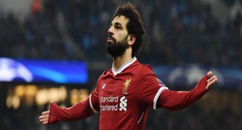 صلاح يظهر بقميص ليفربول الجديد