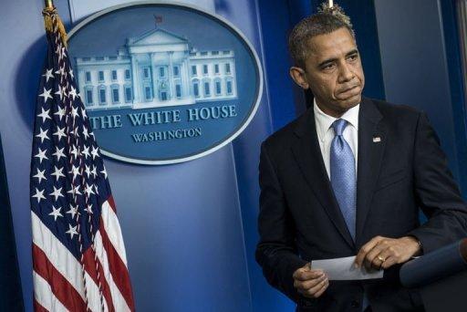 المرشح اوباما يتوارى والرئيس يمسك بزمام الامور لمواجهة الاعصار ساندي
