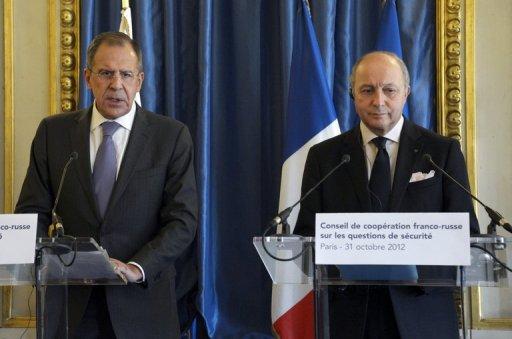 لافروف: حمام الدم في سوريا سيستمر اذا لم يغير الغرب موقفه