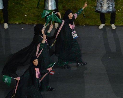 ترحيب سعودي بمشاركة المرأة السعودية في أولمبياد لندن